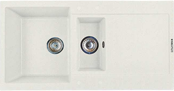 Кухонная мойка LAVA D.5 (LATTE белый)