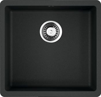 Кухонная мойка OMOIKIRI Kata 44-U-BL Artgranit/черный (4993403) кухонная мойка omoikiri kata 40 u gr artgranit leningrad grey 4993397