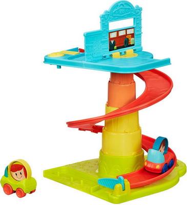 Автопарковка игрушечная Hasbro B 1649 PLAYSKOOL hasbro kre o cityville вторжение строители hasbro