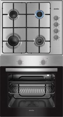Комплект встраиваемой бытовой техники Simfer S 60 M 02 Inox