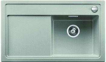 Кухонная мойка BLANCO ZENAR 45 S (чаша справа) жемчужный с кл.-авт. InFino blanco lexa 6 s чаша справа жемчужный