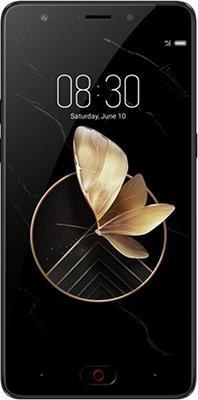 Мобильный телефон ZTE Nubia M2 Play 32 GB черный skinbox флип кейс zte blade x5