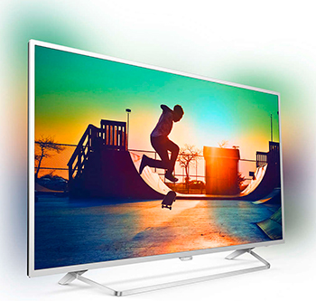 4K (UHD) телевизор Philips 55 PUS 6412 телевизор philips 55pus7809