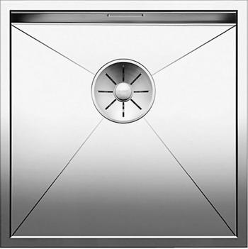 Кухонная мойка BLANCO ZEROX 400-IF нерж. сталь зеркальная полировка 521584 blanco elipso s ii нерж сталь зеркальная