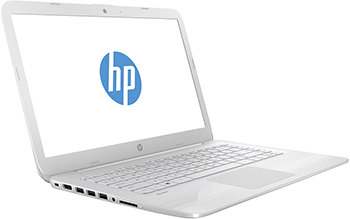 Ноутбук HP Stream 14-ax 017 ur (2EQ 34 EA) Snow White цена