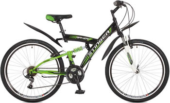 Велосипед Stinger 26'' Banzai 16'' черный 26 SFV.BANZAI.16 BK7 коммутатор zyxel gs1100 16 gs1100 16 eu0101f