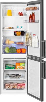 Двухкамерный холодильник Beko RCNK 321 E 21 X холодильник beko rcnk365e20zx двухкамерный нержавеющая сталь