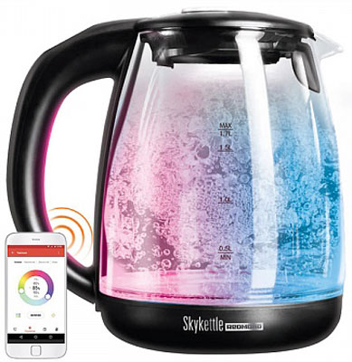 Чайник электрический Redmond SkyKettle RK-G 210 S темно-серый кофеварка redmond rcm 1505 s skycoffee