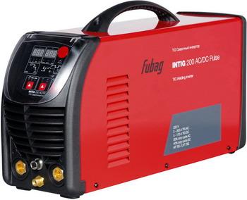 Сварочный аппарат FUBAG INTIG 200 AC/DC PULSE 68441.2 установка для аргонодуговой сварки foxweld saggio tig 200 ac dc pulse