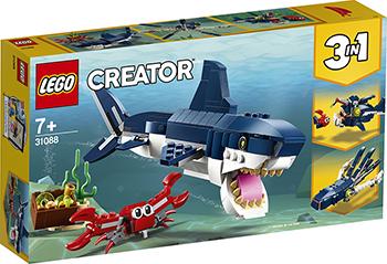 Конструктор Lego Обитатели морских глубин 31088 Creator 3 in 1 настольная игра funville вызов морских глубин 11735