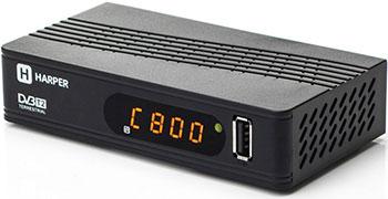 Цифровой телевизионный ресивер Harper HDT2-1514 цифровой телевизионный ресивер bbk smp 016 hdt2 темно серый