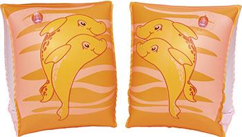 Нарукавники для плавания BestWay Дельфины 23х15 см 32042 BW нарукавники bestway jungle trek 32102 bw