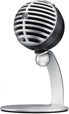 Микрофон Shure MV5/A-LTG серый микрофон shure sv200 a черный