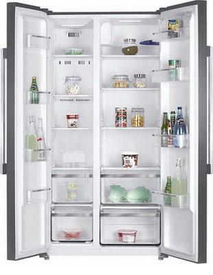 Холодильник Side by Side Kraft KF-F 2660 NFL холодильник side by side samsung rs57k4000sa