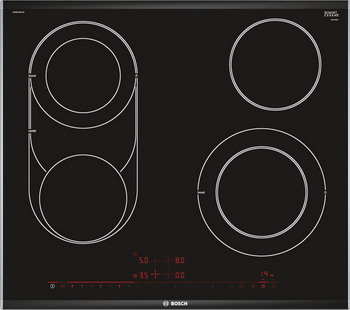 Встраиваемая электрическая варочная панель Bosch PKM 675 DP1D bosch pkm 875 dp1d
