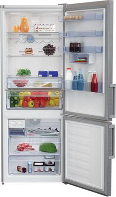 Двухкамерный холодильник Beko RCNE 520 E 21 ZX холодильник beko rcnk365e20zx двухкамерный нержавеющая сталь