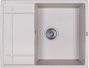 Кухонная мойка Weissgauff QUADRO 650 Eco Granit серый шелк  weissgauff classic 800 eco granit серый шёлк