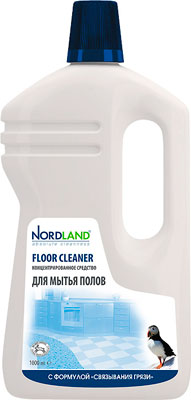 Средство для мытья полов NORDLAND 391619 средство для стекла и зеркал nordland 391329