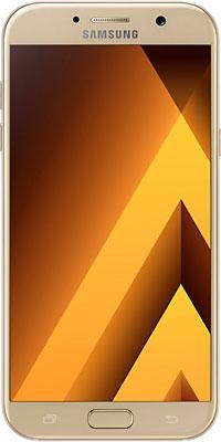 Мобильный телефон Samsung Galaxy A7 (2017) SM-A 720 F золотистый чехлы для телефонов g case накладка g case slim premium для xiaomi mi note 3 черная