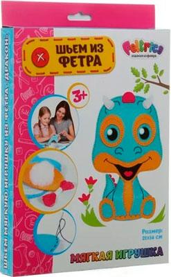 Набивная игрушка Feltrica ''Шьем из фетра'' Дракон (StarPets) 4627130653270 feltrica набор для изготовления игрушек шьем из фетра попугай