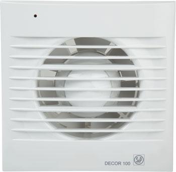 Фото - Вытяжной вентилятор Soler amp Palau D&#233 cor 100 C (белый) 03-0103-001 стикеры для стен happy 30x120cm 2015 3d diy d cor mn 01943