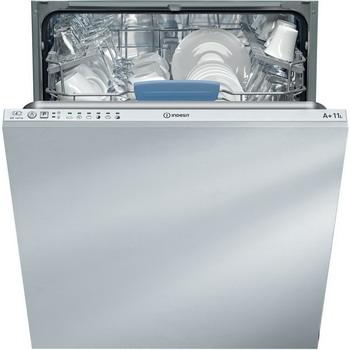 Полновстраиваемая посудомоечная машина Indesit DIF 16 T1 A EU полновстраиваемая посудомоечная машина indesit disr 57 m 19 c a eu