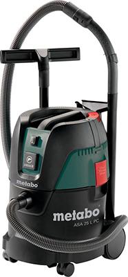 Строительный пылесос Metabo ASA 25 L PC 602014000 хозяйственный пылесос metabo asa 30 l pc inox 602015000