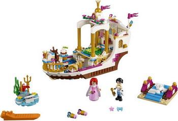 Конструктор Lego Disney Princess: Королевский корабль Ариэль 41153 disney princess ароматизированная вода детская ариэль 200мл