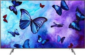 QLED телевизор Samsung QE-55 Q6FNAUXRU телевизор samsung qe 55q7camuxru