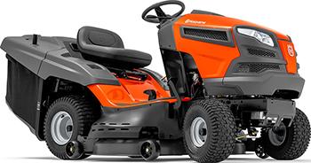 Садовый трактор - газонокосилка с сиденьем Husqvarna TC 142 T 9605101-46 газонокосилка бензиномоторная несамоходная cub cadet cc 42 po