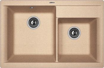 Кухонная мойка Florentina Касси 780 780х510 песочный FG кухонная мойка florentina касси 780 780х510 антрацит fsm