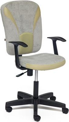 Кресло Tetchair OSTIN (ткань серый/фисташковый Мираж грей/TW-25)
