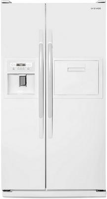 купить Холодильник Side by Side Daewoo FRS 6311 WFG белый