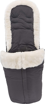Накидка-муфта Silver Cross Reflex Footmuff Cream Fur/Pewter SX 5021.CM демисезонные конверты moon муфта для ножек footmuff
