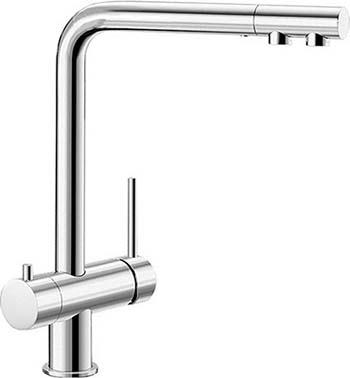 Кухонный смеситель BLANCO FONTAS II хром 525137 смеситель elipso ii stainless steel 514882 blanco