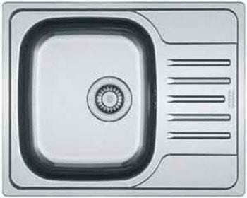 Кухонная мойка FRANKE POLAR нерж PXL 611-60 101.0192.875 franke pxl 611 60 нерж сталь зеркальная