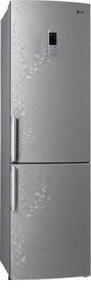 Двухкамерный холодильник LG GA-B 489 ZVSP холодильник lg ga b499 zvsp