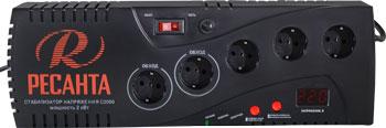 Стабилизатор напряжения Ресанта С2000 стабилизатор напряжения sven vr v1000
