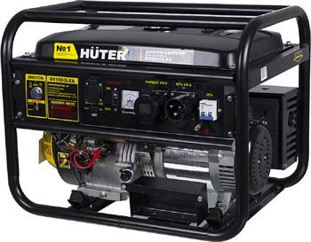 Электрический генератор и электростанция Huter DY 6500 LXA авр huter для бензогенератора dy6500lx 64 1 20