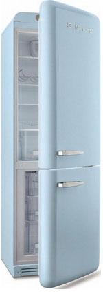 Двухкамерный холодильник Smeg FAB 32 RAZN1 двухкамерный холодильник smeg fab 32 rpn1