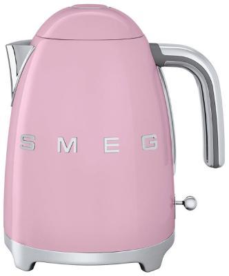 Чайник электрический Smeg KLF 01 PKEU розовый чайник smeg klf02bleu