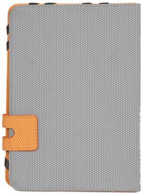 Чехол Defender Favo uni 10.1 серый+оранжевый 26062