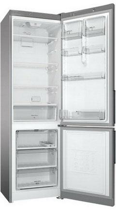 Двухкамерный холодильник Hotpoint-Ariston HF 4200 S холодильник hotpoint ariston hf 5200 s двухкамерный серебристый
