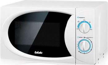 Микроволновая печь - СВЧ BBK 20 MWS-710 M/W белый микроволновая печь свч bbk 20 mws 710 m w белый