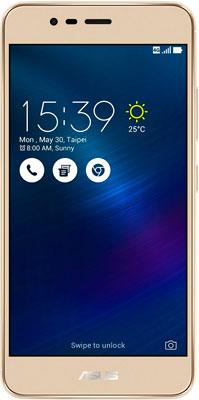 Мобильный телефон ASUS ZenFone 3 Max ZC 520 TL 16 Gb (90 AX 0085-M 00300) золотистый смартфон asus zenfone zoom 3 ze553kl 64gb
