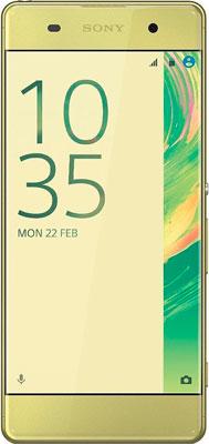 все цены на  Мобильный телефон Sony Xperia XA Graphite Lime Gold  онлайн