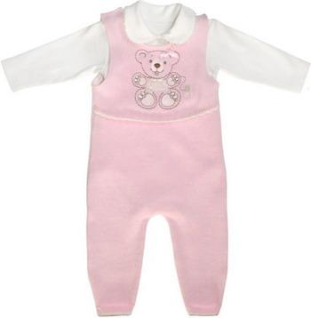 Комплект одежды Лео Мишка рост 68 розовый