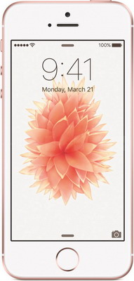 Мобильный телефон Apple iPhone SE 32 Gb Rose Gold (MP 852 RU/A) мобильный телефон apple iphone se 32 gb space gray mp 822 ru a