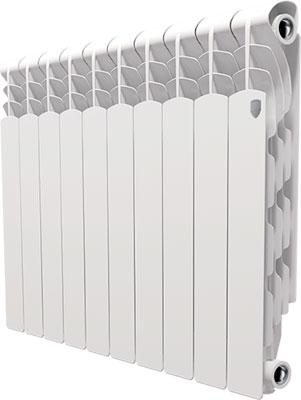 Водяной радиатор отопления Royal Thermo Revolution 500 - 10 секц. радиатор royal thermo revolution 500 6 секций