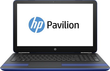 Ноутбук HP Pavilion 15-au 126 ur (Z6K 52 EA) Dragonfly Blue монитор hp pavilion 22xi